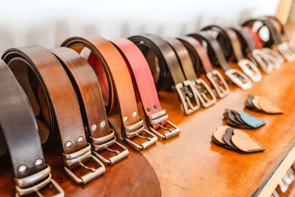 who makes the best leather belts